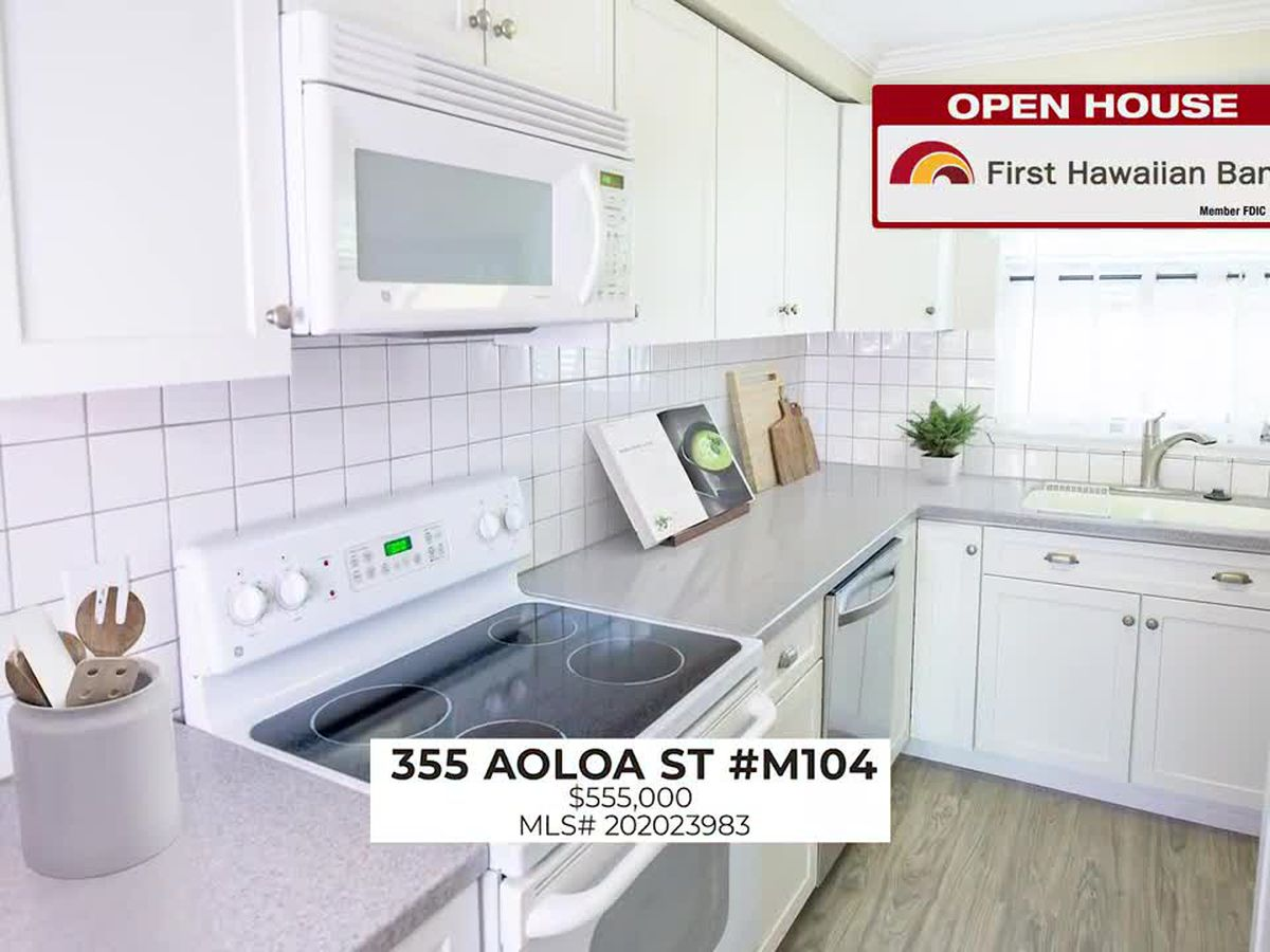 Open House: Spacious 2 BD, 2 BA home in Kailua and 3 BD, 2.5 BA home in Makakilo