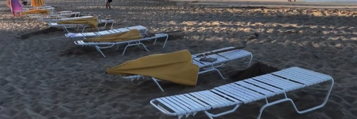 DLNR issues $62K fine to beach rental owner for presetting chairs in Waikiki