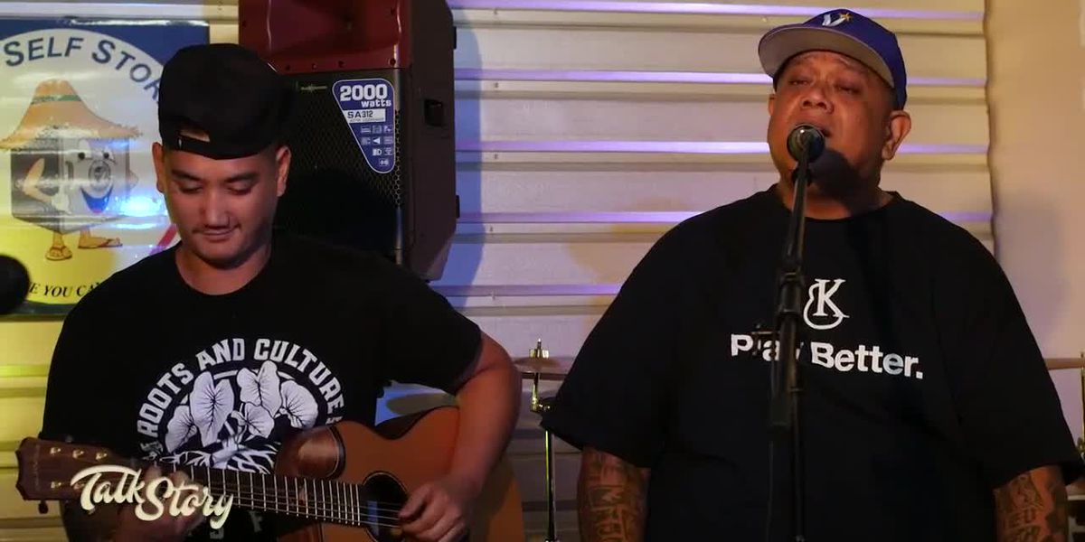 Father and son musicians, Sean Na'auao and Kupu Dalire-Na'auao, talk legacy and jam out on Talk Story