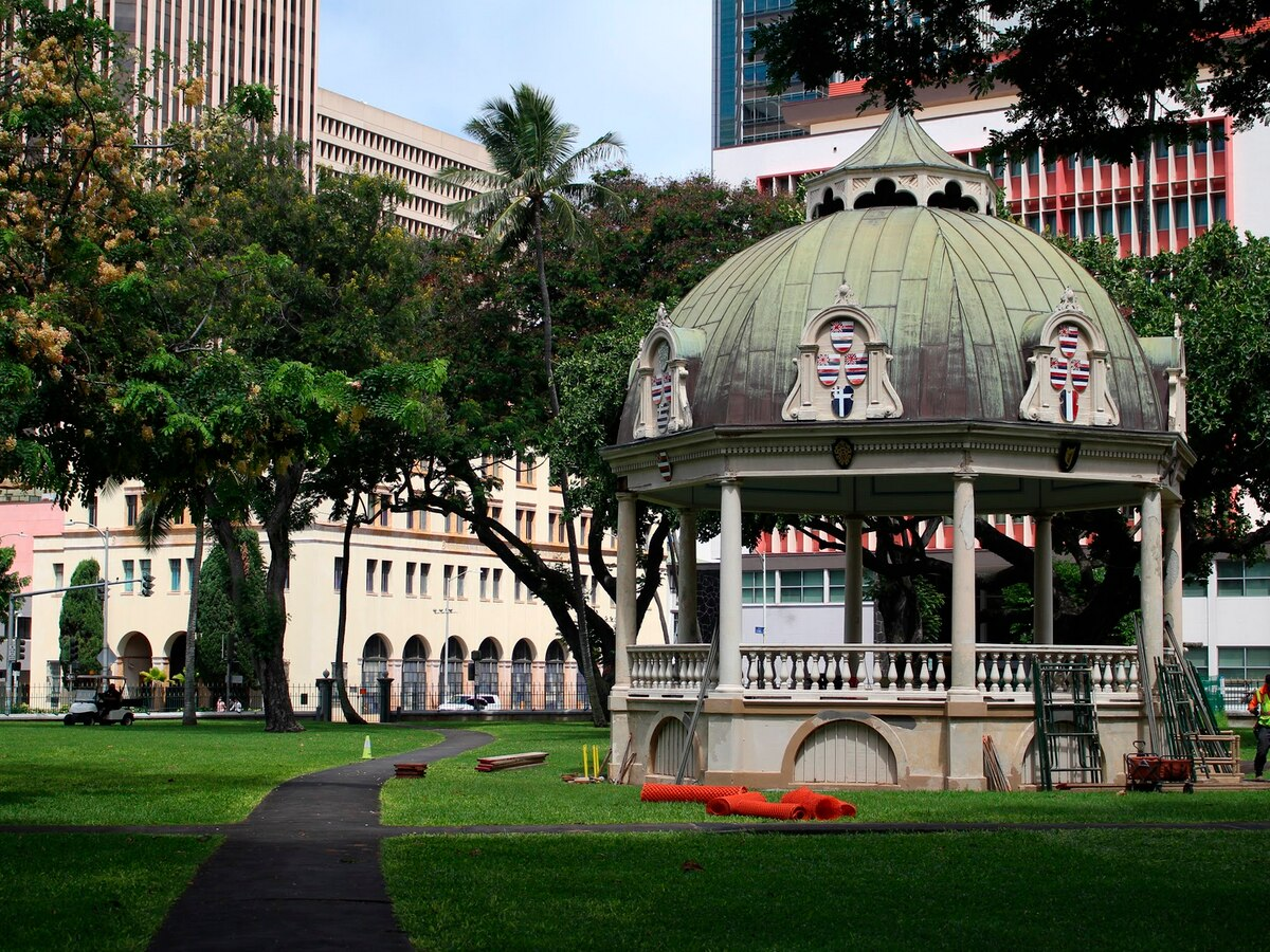 HTA funding will help restore a palace feature tied to Kalakaua's 1883 coronation