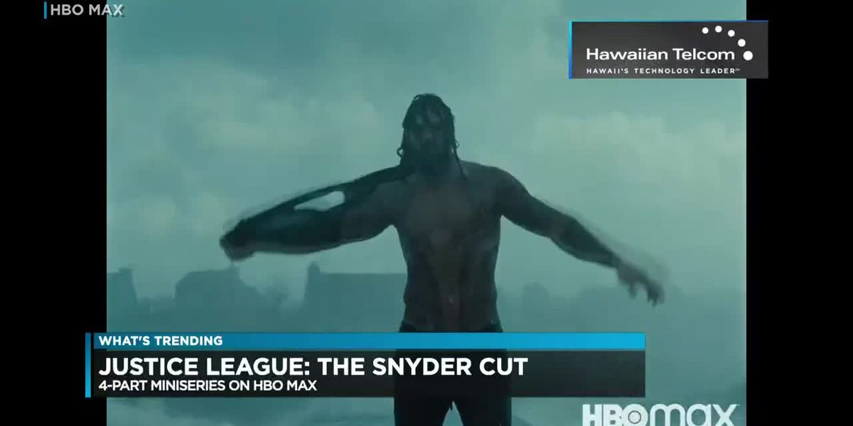 What's Trending: Local boy Jason Momoa seen in 'Justice League' miniseries