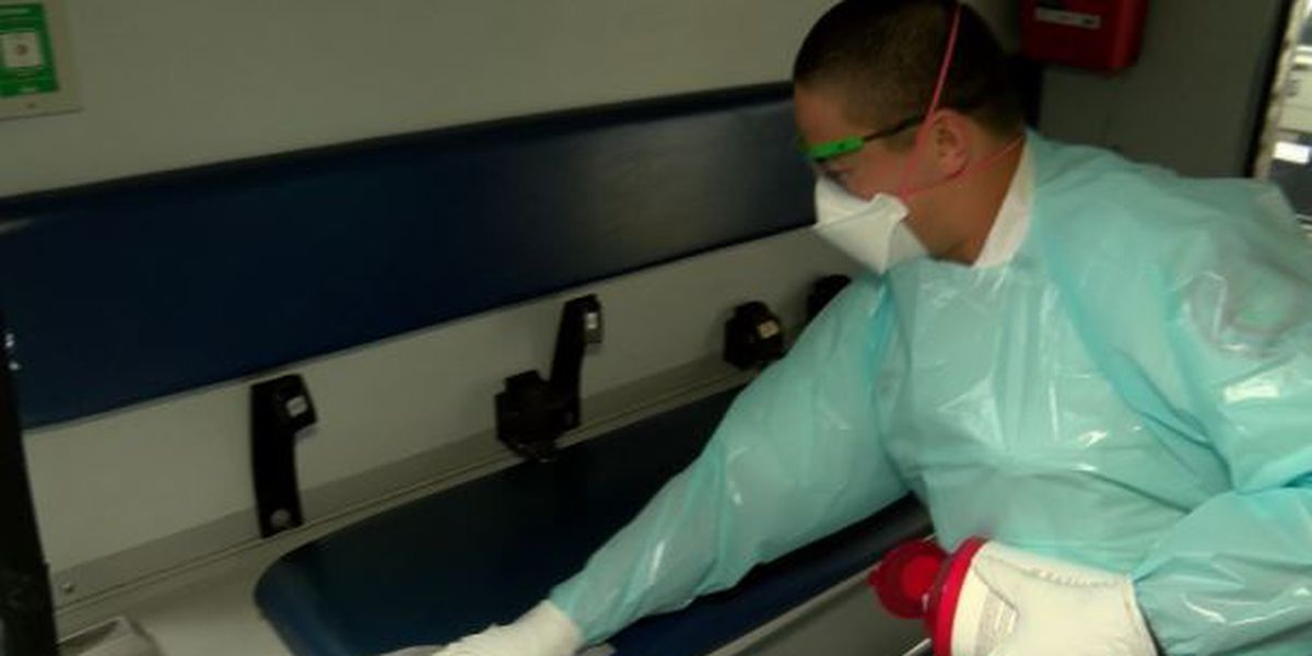 Protocols in place to protect paramedics responding to suspected coronavirus cases