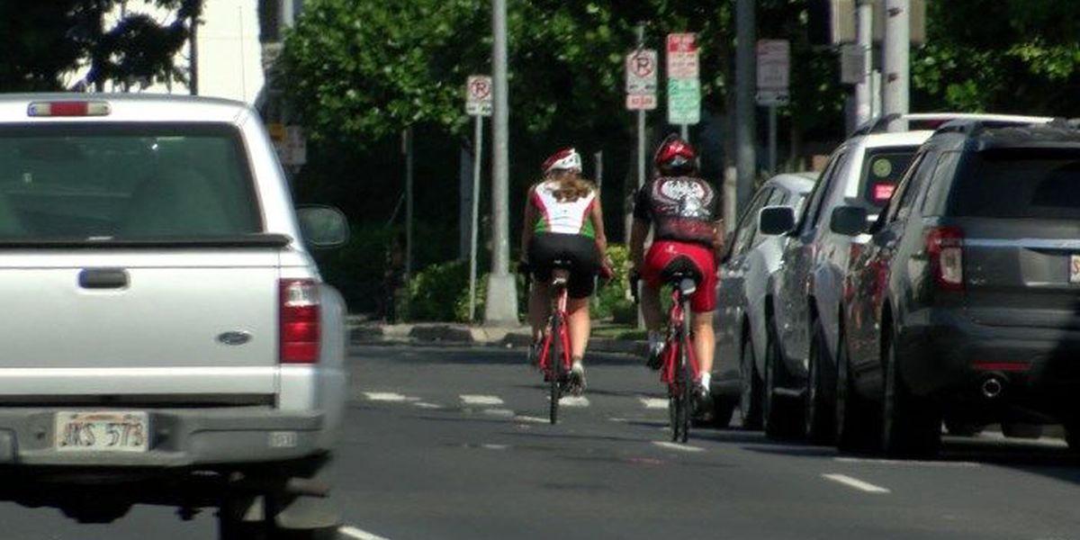Cyclists urge Hawaii lawmakers to adopt 'safe passing' bill