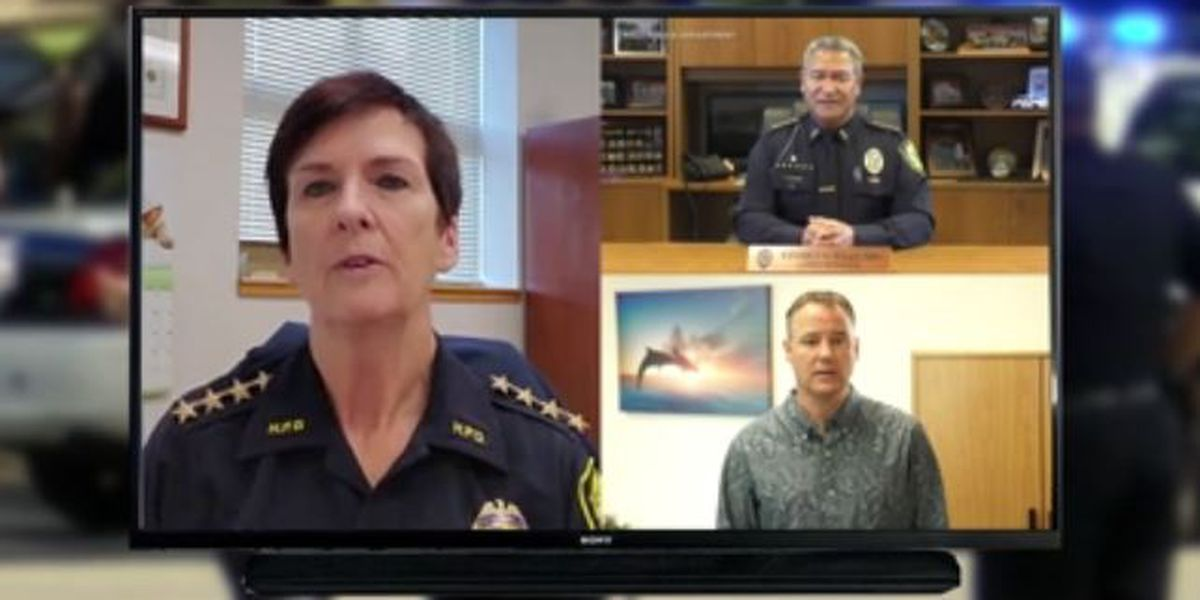 Hawaii police chiefs defend themselves on video, but won't take reporters' questions