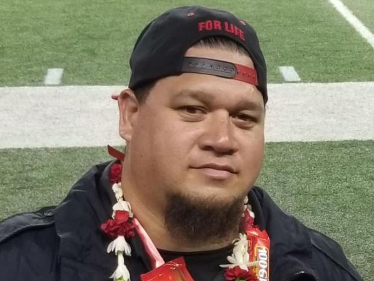Maui Kahalepuna, 43, was there for everyone who needed him