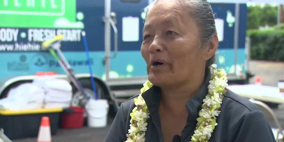 Homeless no more , a new job provides 61-year-old with fresh start