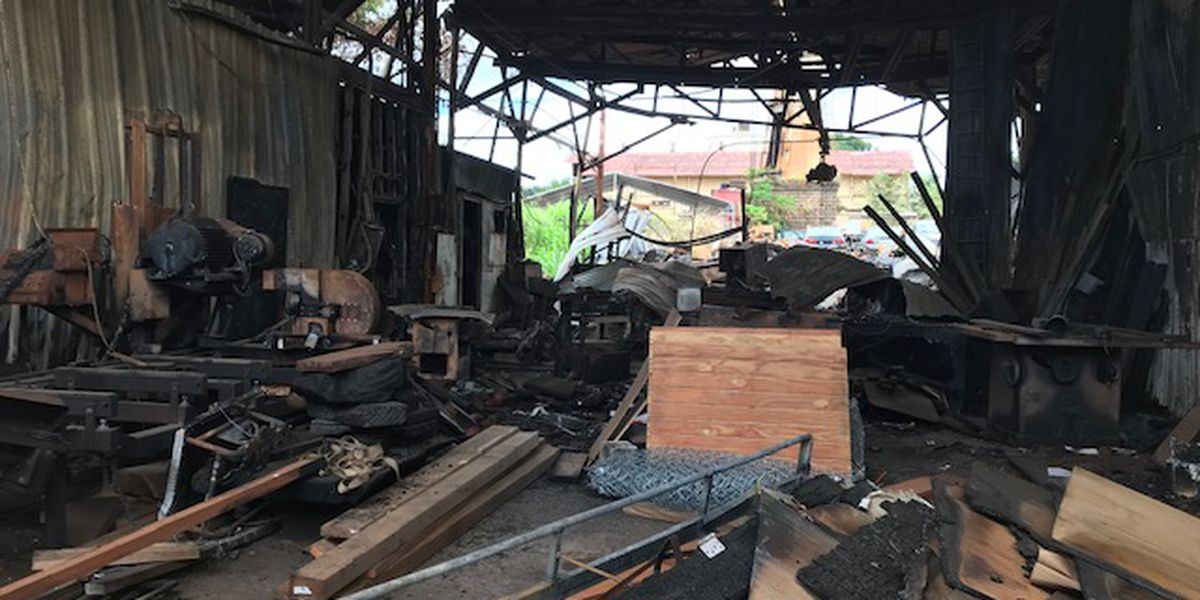 Big wave surfer determined to rebuild after fire damages Waialua shop