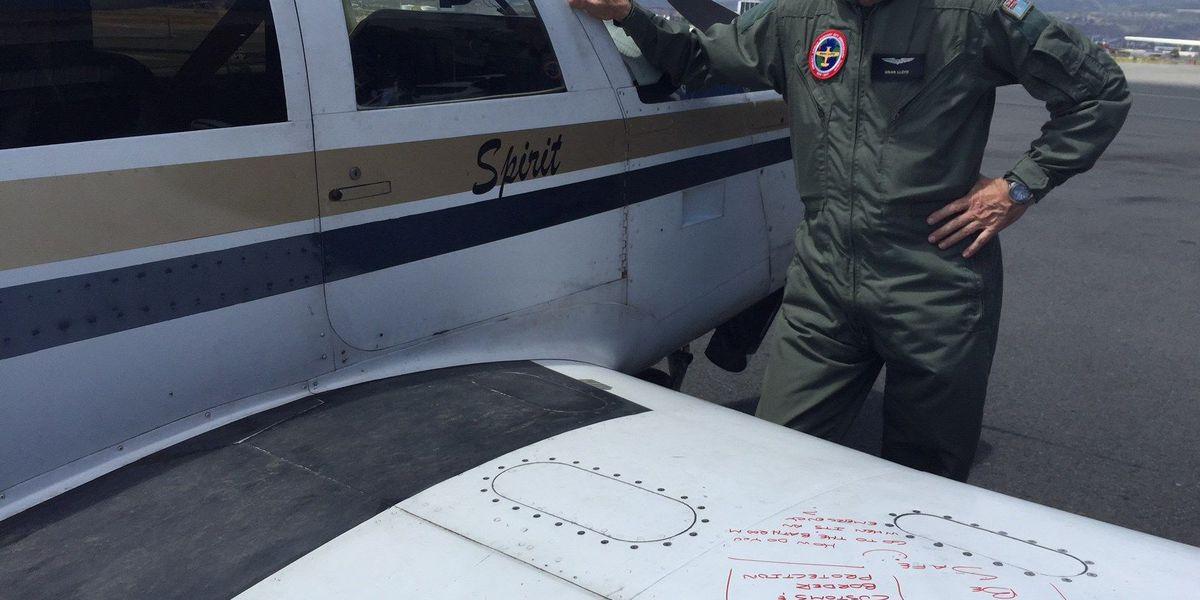 Pilot lands in Hawaii near end of Amelia Earhart tribute flight