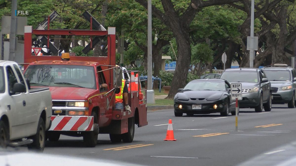 To ease traffic, city makes major changes to decades-old PM contraflow on Kapiolani