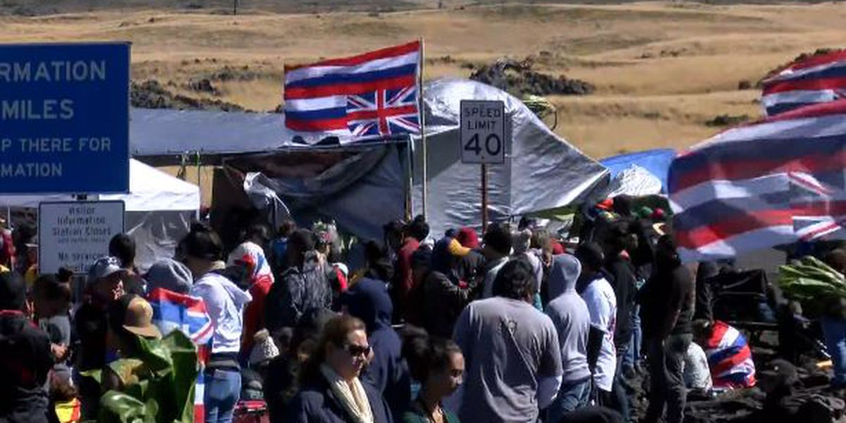 Hundreds protest building of world's largest telescope in Hawaii