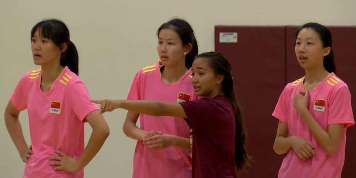 'This is not about volleyball': Maryknoll hosts exchange program with Chinese high school
