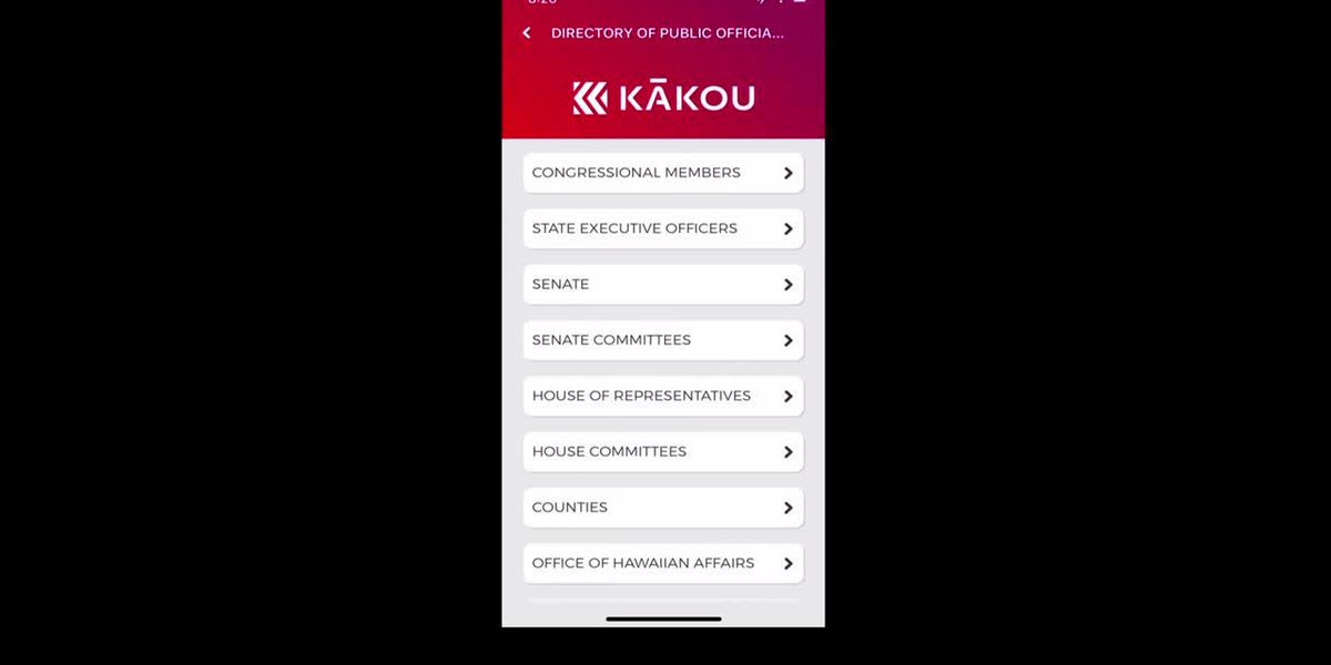 Introducing KĀKOU, Hawaii's first ever civic engagement app