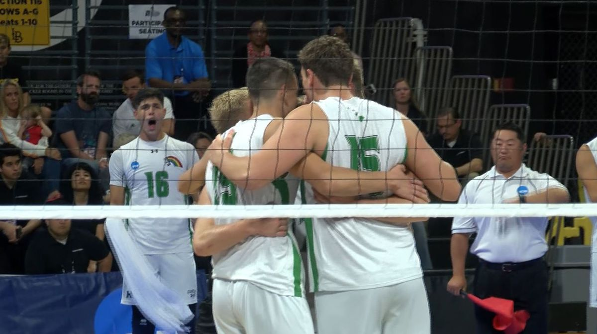 Hawaii falls to Long Beach State in quest for NCAA Men's ...