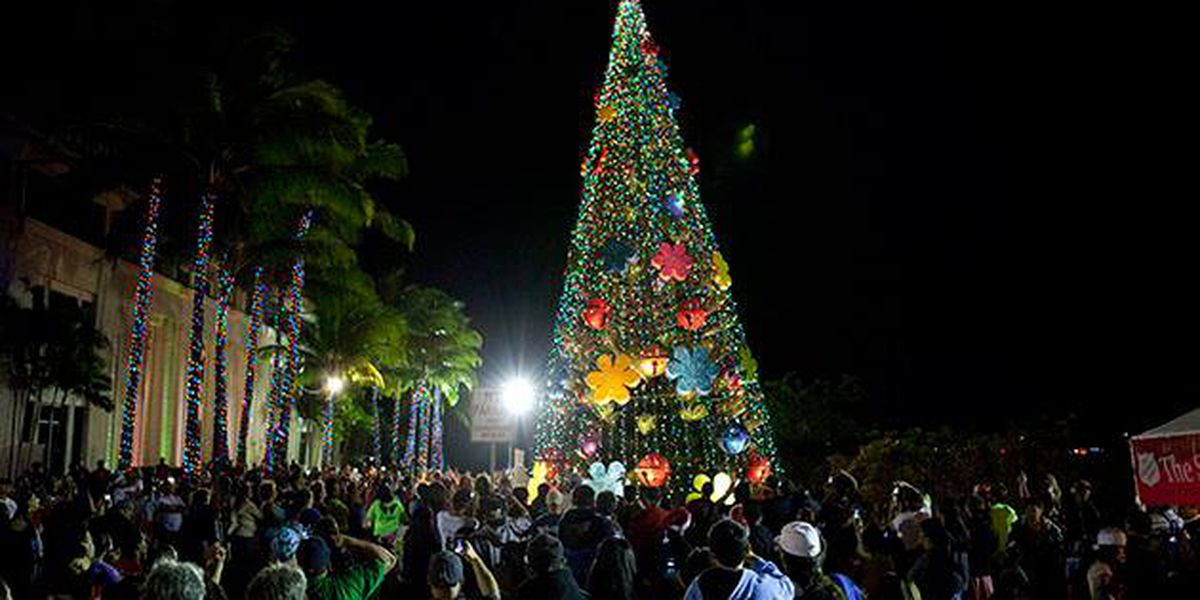 Kapolei City Lights celebration delights crowds with tree lighting, parade and games
