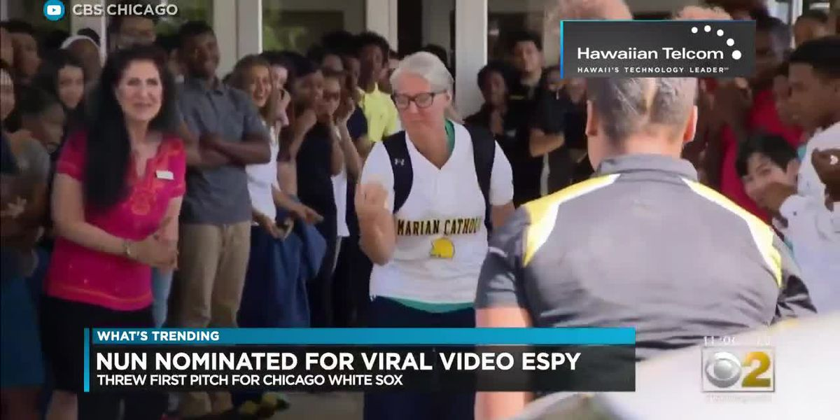 What's Trending: A nun has been nominated for an ESPY