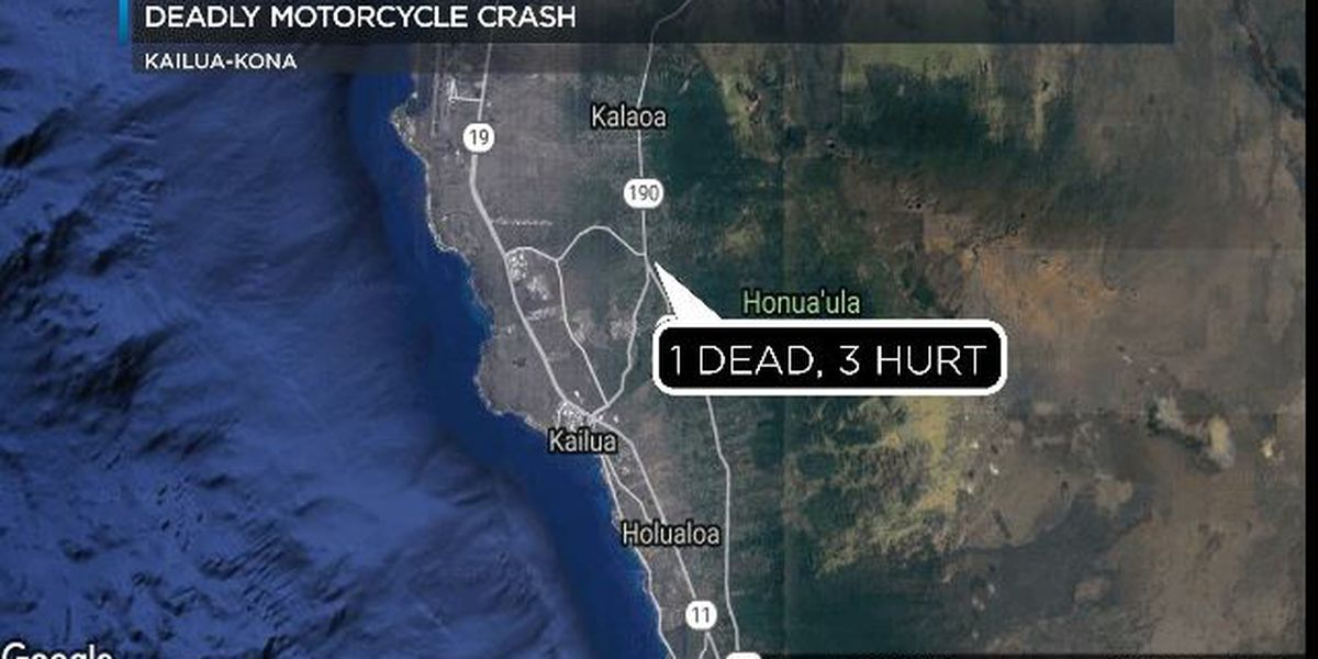Police: Speed, alcohol possible factors in deadly crash in Kailua-Kona