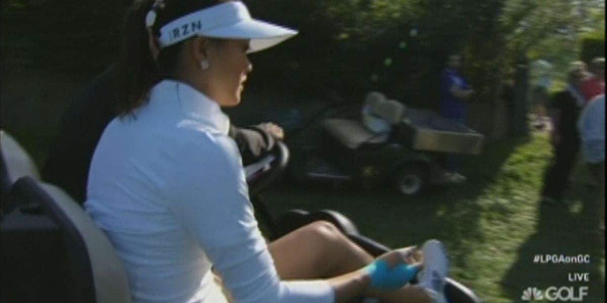 Wie withdraws from first round of Evian Championship