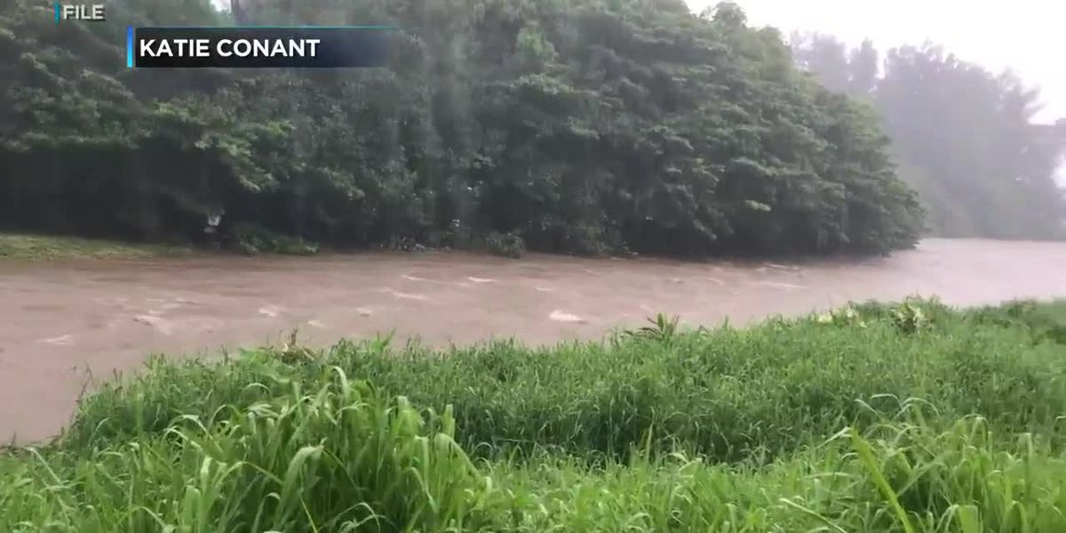 Kauai woman rescued after being swept out in a flash flood