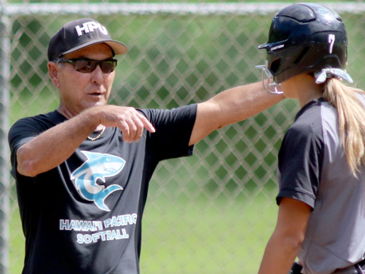 HPU Softball's Bryan Nakasone retires as Head Coach