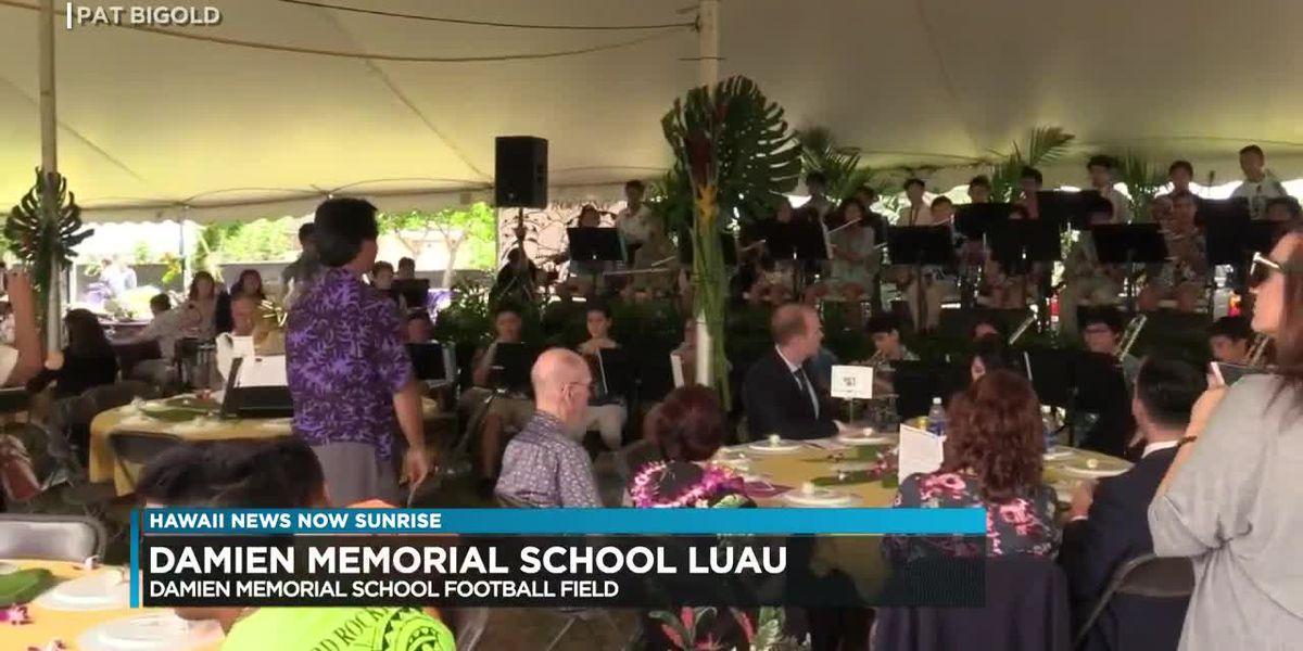 Damien Memorial School luau on Sunday