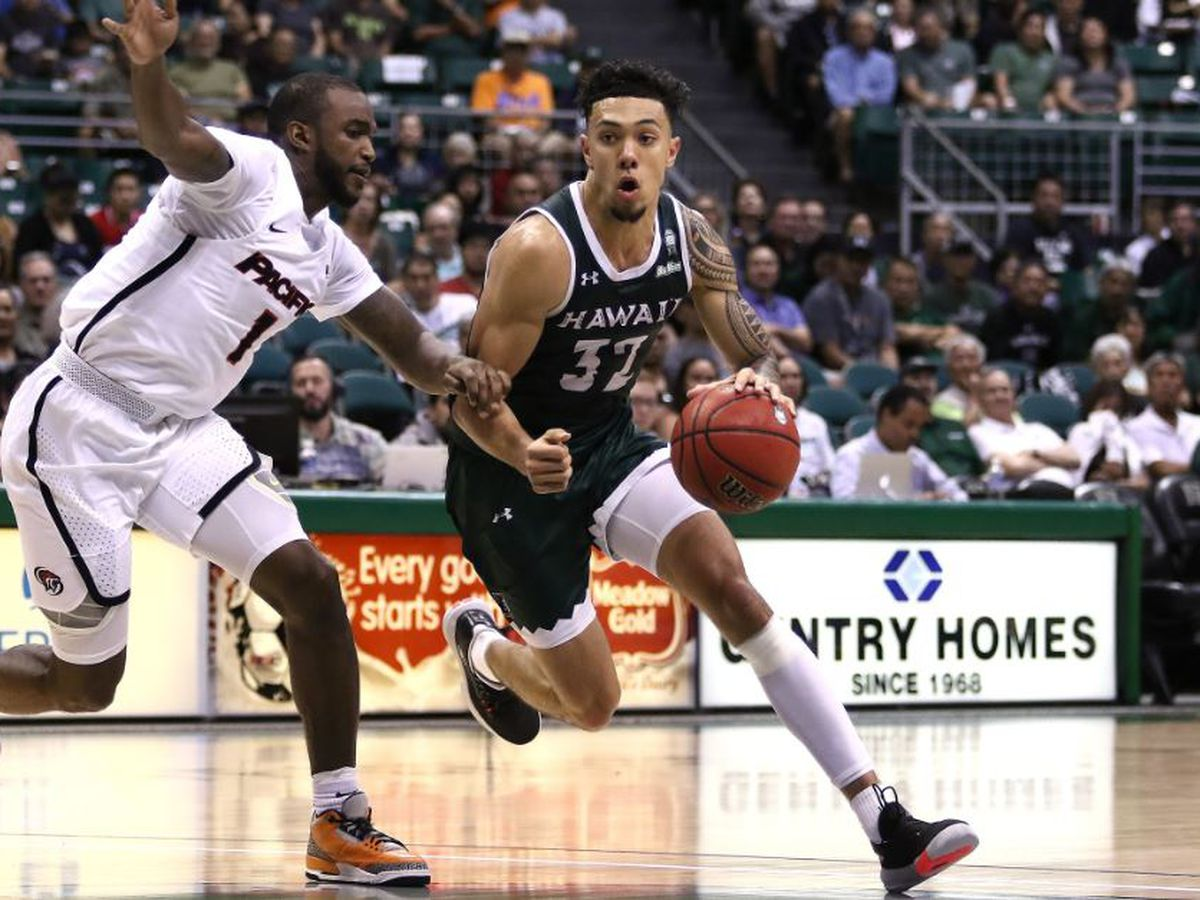 'Bows rally for 72-67 win in Rainbow Classic Finale