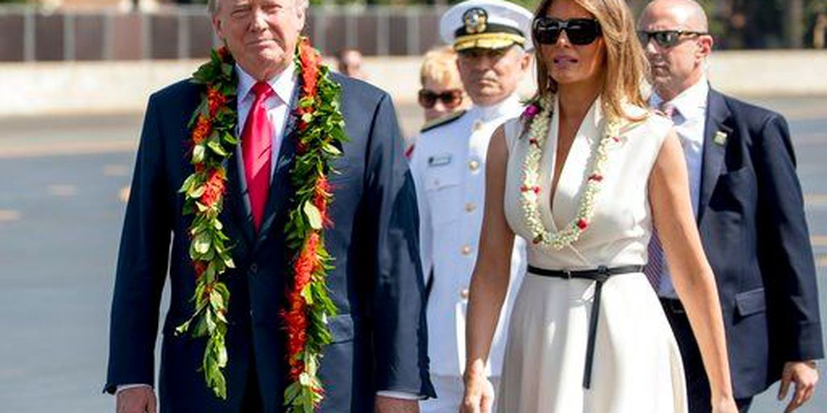 President makes whirlwind stopover in Hawaii
