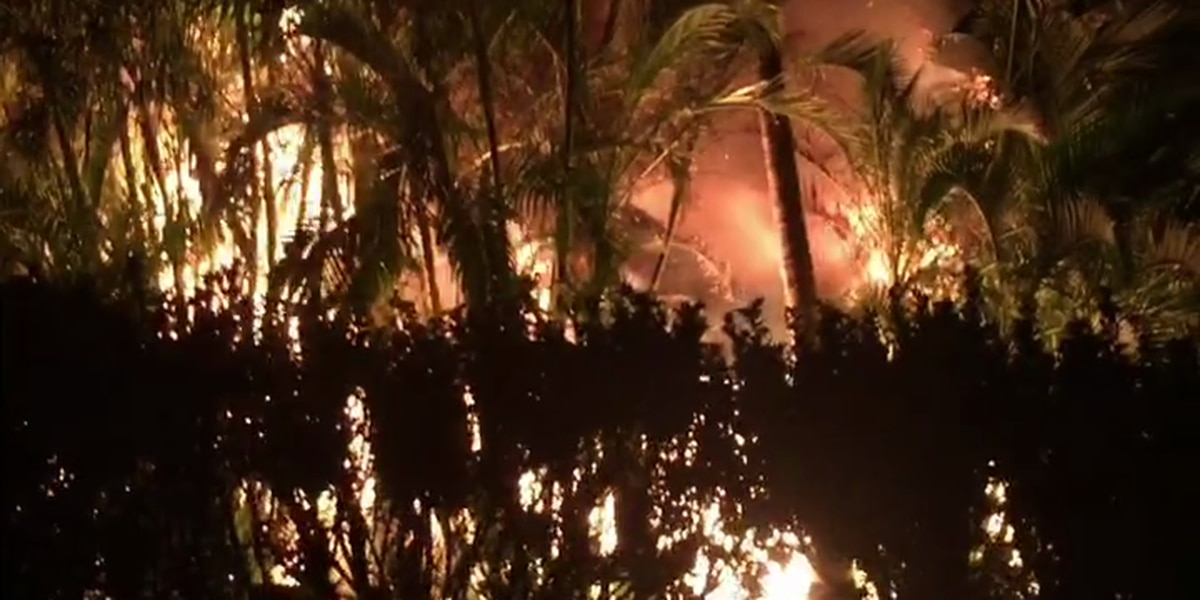 Elderly man treated for burns after garage fire on Maui