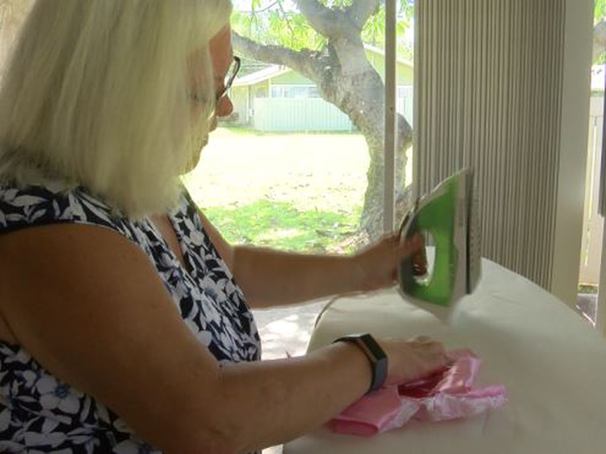 Seamstress who sews burial clothes for infants needs another helping hand