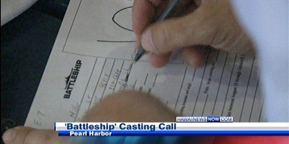 """Battleship"" casting call continues Sunday"