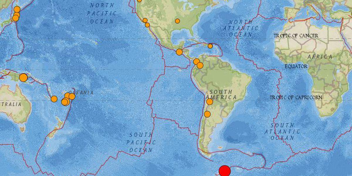 No tsunami threat from distant 7.3-magnitude earthquake