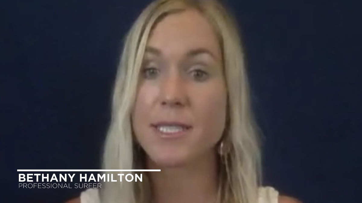 Checking in with surfer Bethany Hamilton