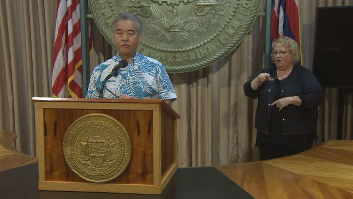 Ige urges residents to prepare for impacts of 'powerful storm'