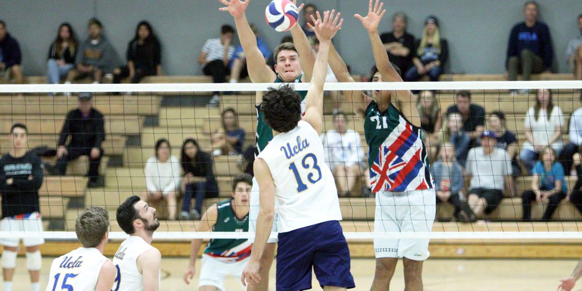 Rainbow Warriors clinch #3 seed in MPSF Tournament with win at UCLA