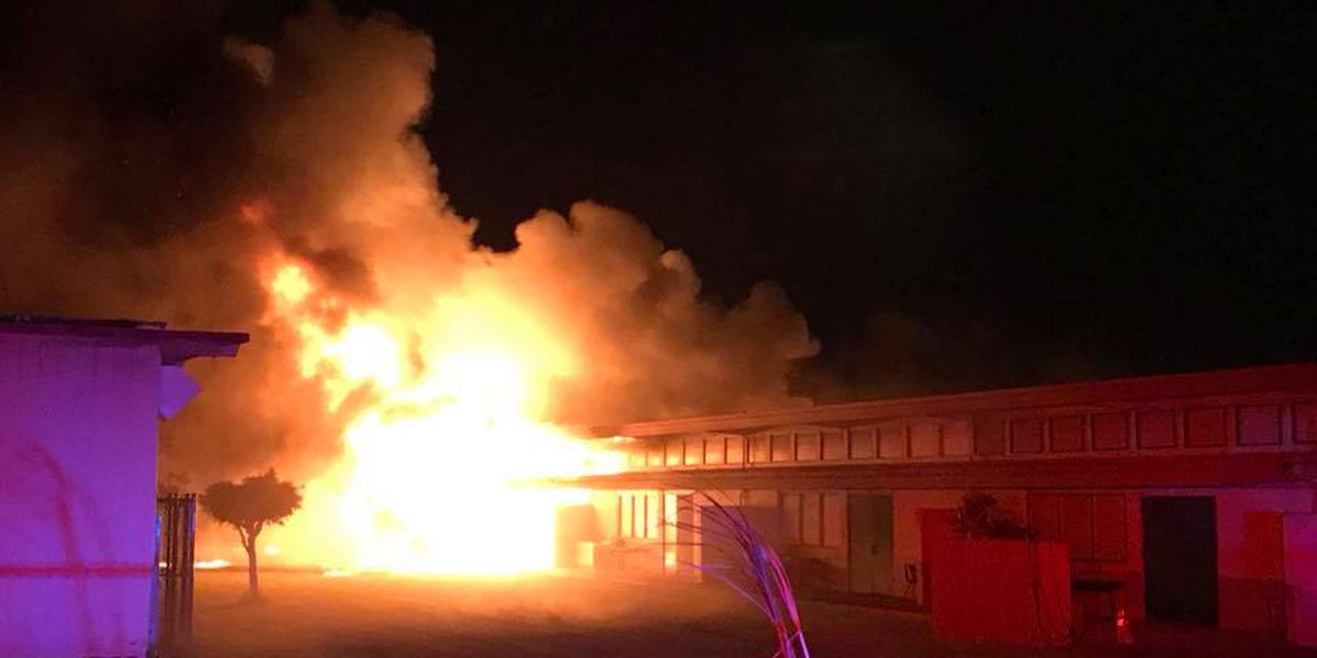 PHOTOS: Fire causes $1.2M in damage to Kahului Elementary