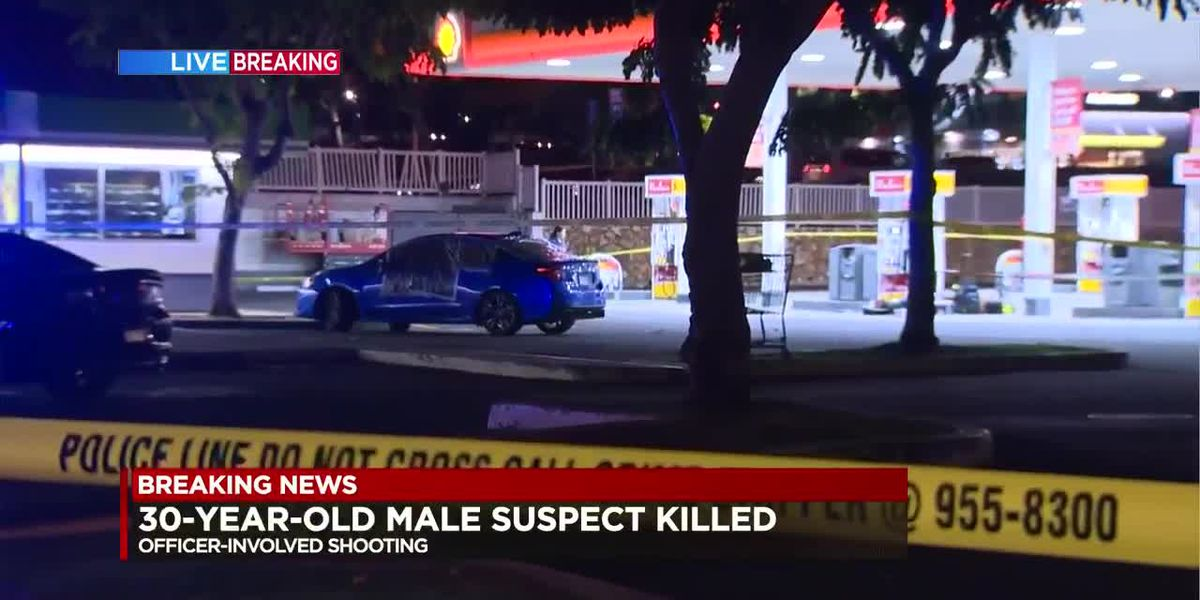 Man killed in officer-involved shooting suspected to be involved in string of carjackings