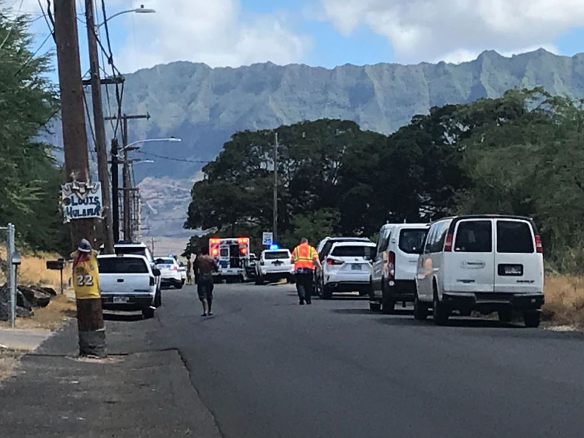 EMS: Man dead after apparent shooting on Oahu's West Side