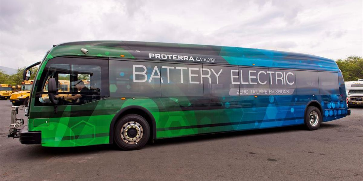 State's first electric bus ready for test run on Maui