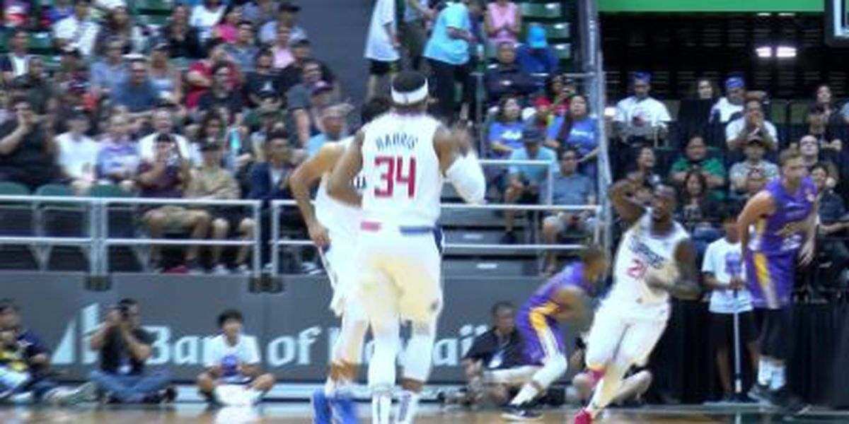 Los Angeles Clippers defeat Sydney Kings, 110-91