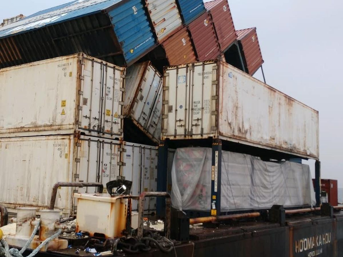 NTSB outlines what caused shipping containers to fall overboard last June