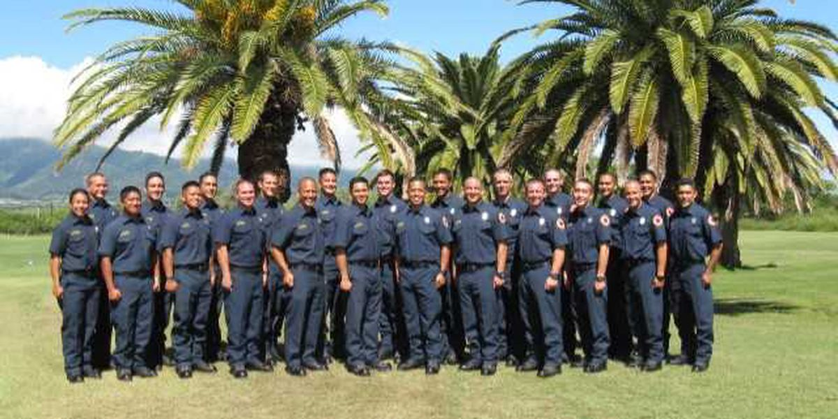 MFD concludes 26-week training, graduating 23 new firefighters