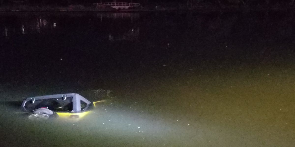 HPD responding after vehicle plunges into Ala Wai Canal