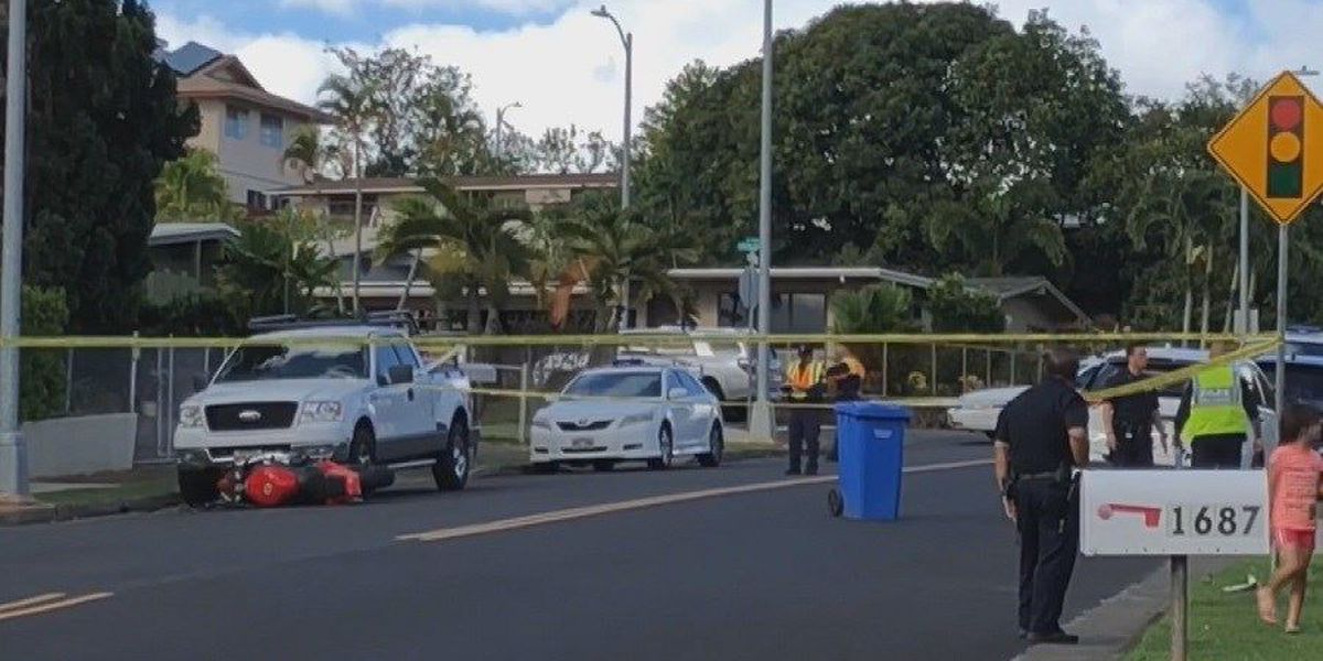 Man critically injured in Pearl City motorcycle crash