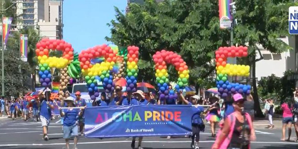 2018 Honolulu Pride Parade and Festival brings color and inclusion to the streets