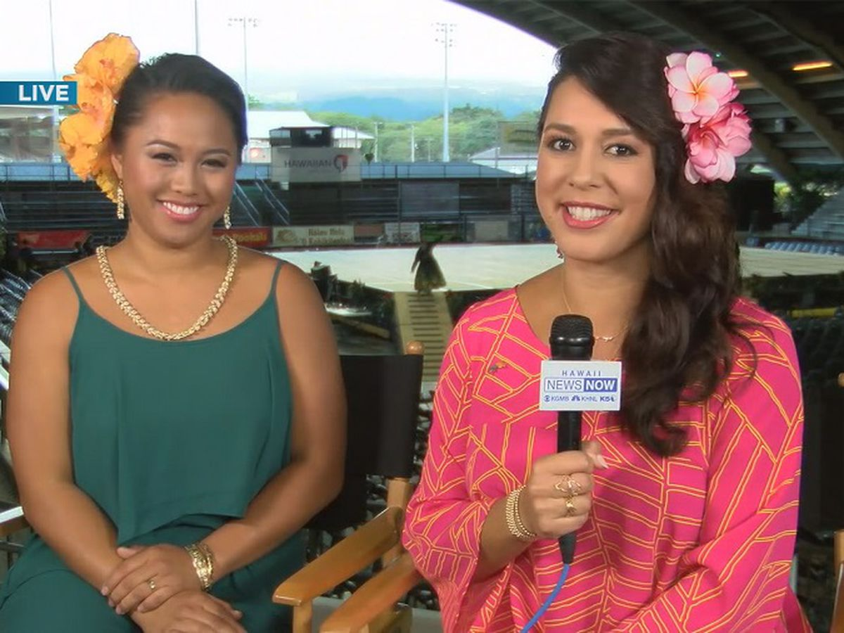Day 2: Sunrise goes 'On the Road' to Hilo for Merrie Monarch 2019