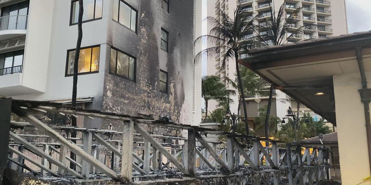 Honolulu to reopen surfboard locker racks destroyed in fire